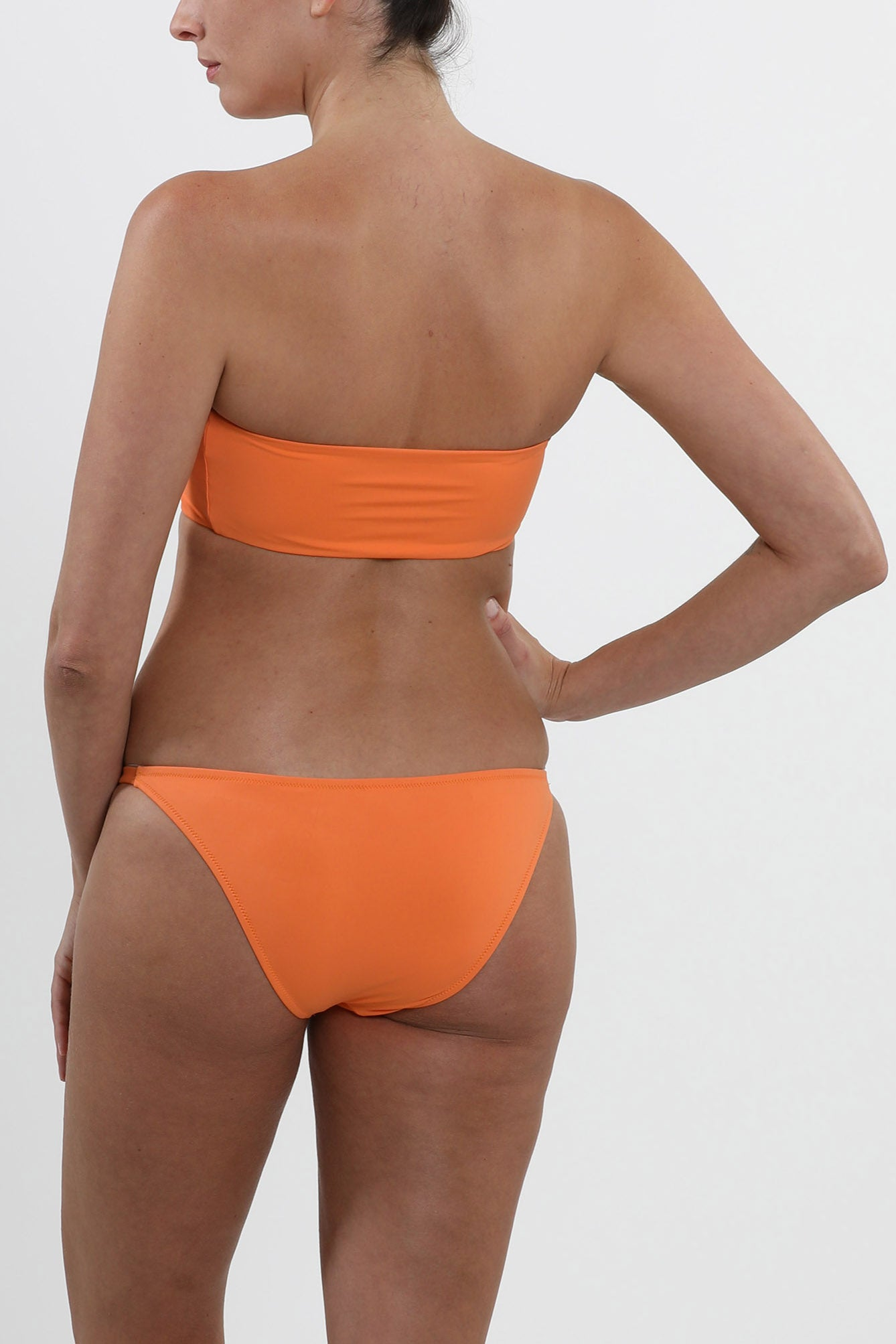 CAPE TOWN - swimwear bikini bottom - Tangerine Orange