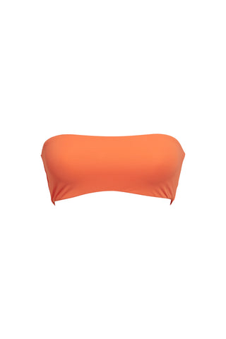 MIAMI - C-F-Cup Underwired Top - Tangerine Orange