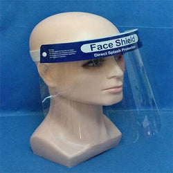 Face Shield with Head Strap (Pack of 100)
