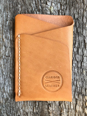 Origin Wallet [Horween Natural Essex + Beige/Tan]