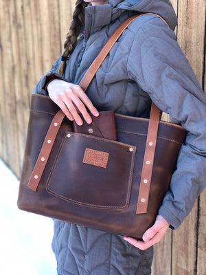 Legacy Tote [Horween Bright Brown Dublin]