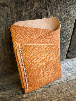 Origin Wallet [Horween Scotch Grain Natural Essex + Beige/Cigar]