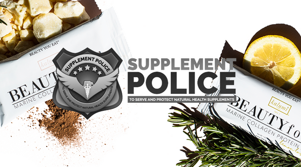 Supplement Police- Kalumi Beauty Food- Healthy Marine Collagen Protein Bar Snacks?