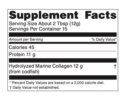 BEAUTYfood Marine Collagen Powder - 15 servings