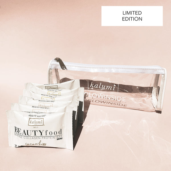 Mini Bars + Beauty Bag Set