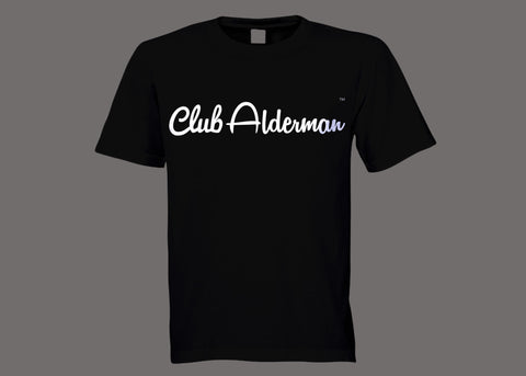 Club Alderman Black Tee