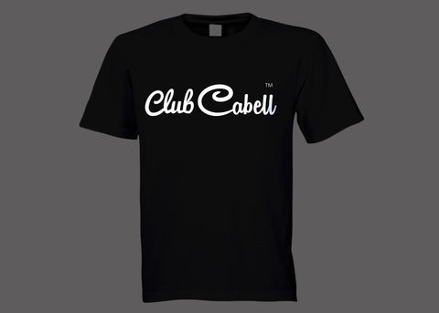 Club Cabell Black Tee