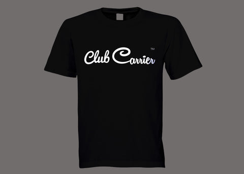 Club Carrier Black Tee