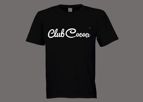 Club Cocoa Black Tee