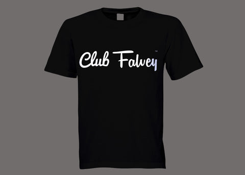 Club Falvey Black Tee