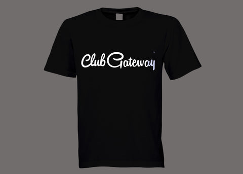 Club Gateway Black Tee