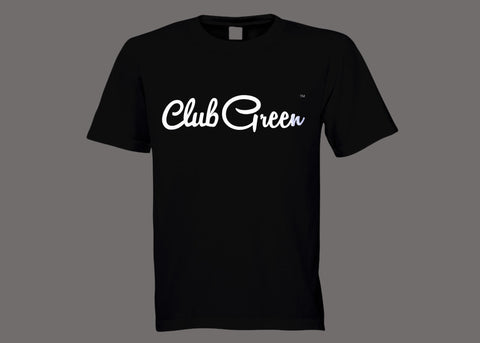 Club Green Black Tee