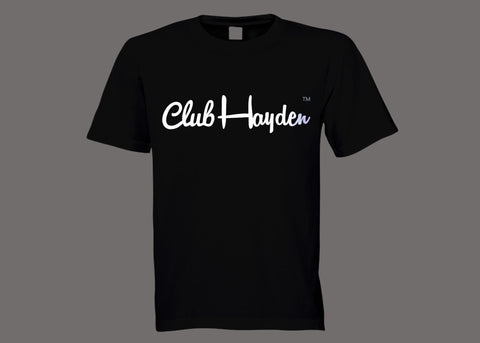 Club Hayden Black Tee