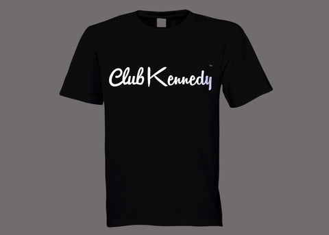 Club Kennedy Black Tee