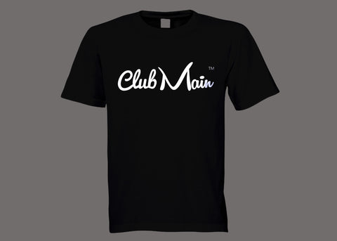 Club Main Black Tee