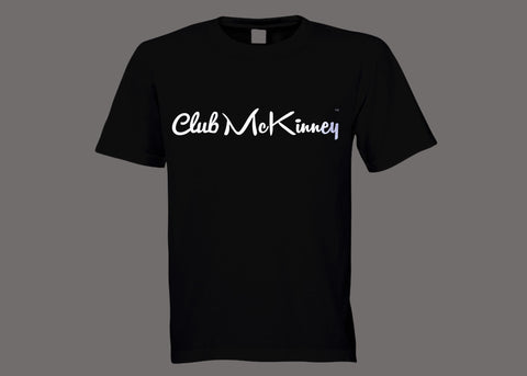 Club McKinney Black Tee