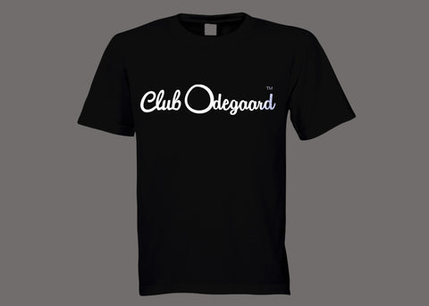 Club Odegaard Black Tee