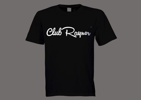 Club Raynor Black Tee