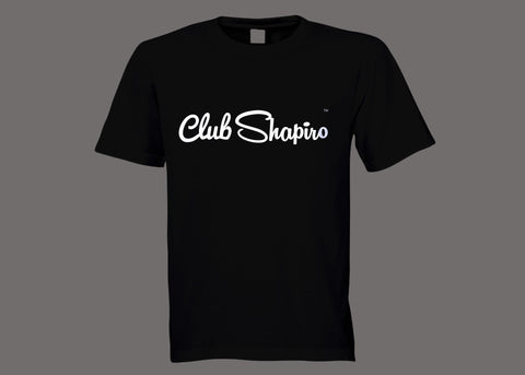 Club Shapiro Black Tee
