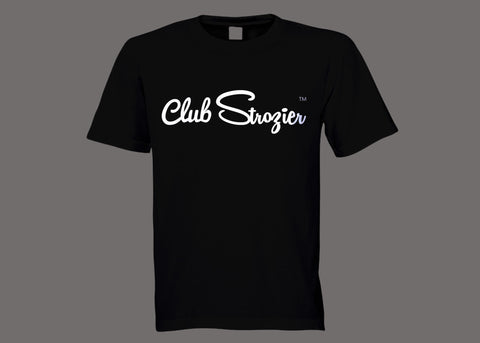 Club Strozier Black Tee