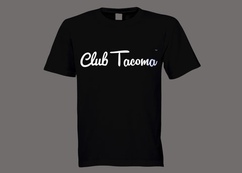 Club Tacoma Black Tee