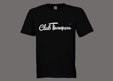 Club Thompson Black Tee