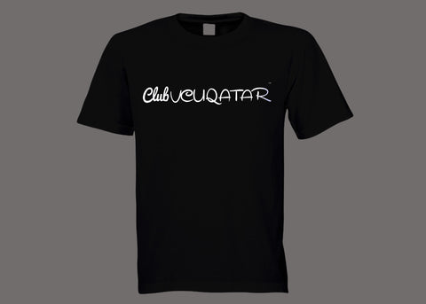 Club VCUQatar Black Tee