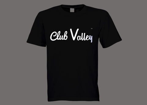 Club Valley Black Tee