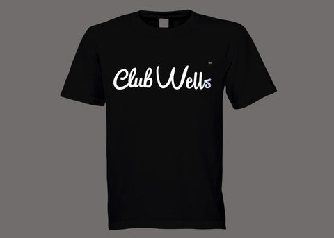 Club Wells Black Tee