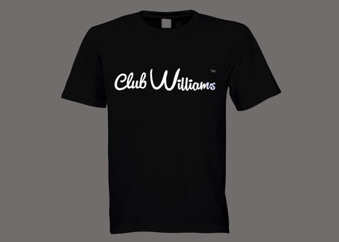 Club Williams Black Tee