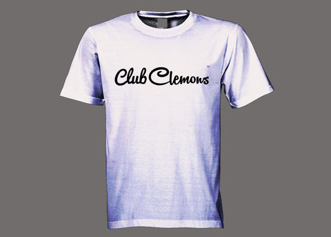 Club Clemons White Tee