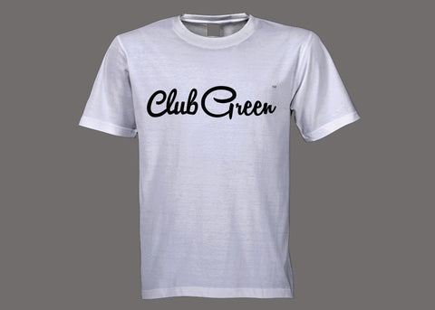Club Green White Tee