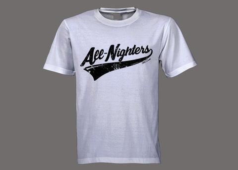 Club Stacks White All-Nighters Tee