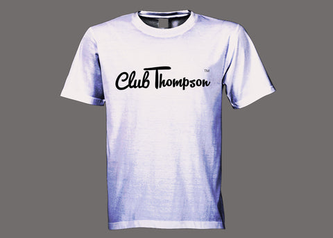 Club Thompson White Tee