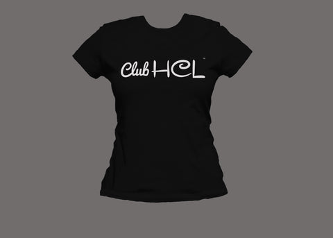 Club HCL Womens Black Tee
