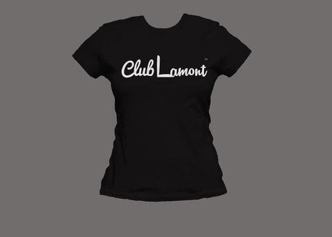 Club Lamont Womens Black Tee