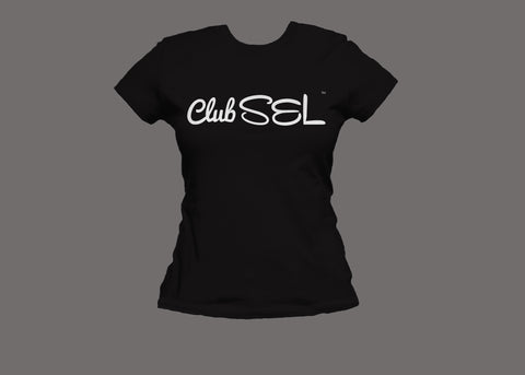 Club SEL Womens Black Tee