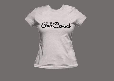 Club Central Womens White Tee