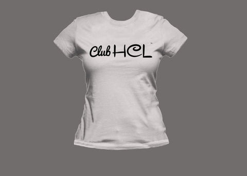 Club HCL Womens White Tee