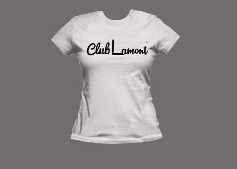 Club Lamont Womens White Tee