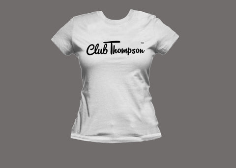 Club Thompson Womens White Tee