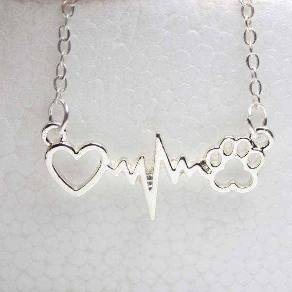 Cute Dog Paw Necklace - Just Pay Shipping