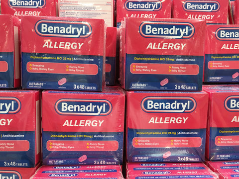 BENADRYL ALLERGY ULTRA TABS 3*48 COUNT