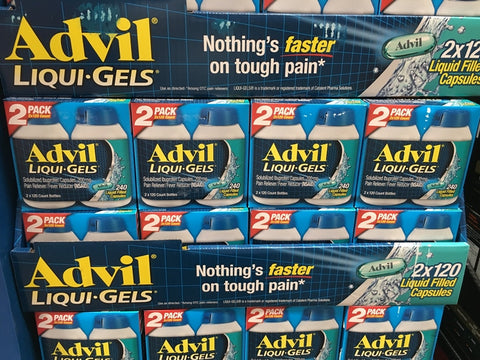 ADVIL 200MG LIGUIGEL 2*120 COUNT