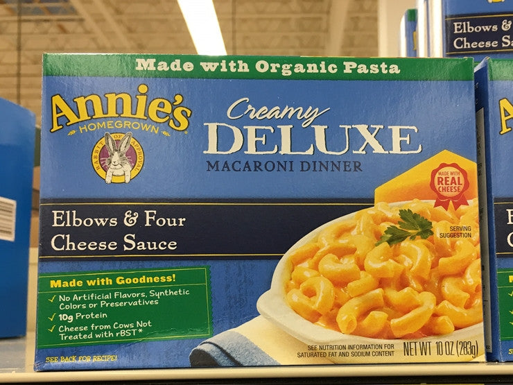 Annie's Macaroni and Cheese creamy deluxe 10oz