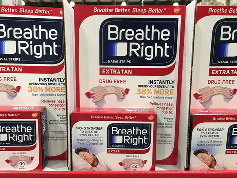 Breathe Right extra tan 44 count