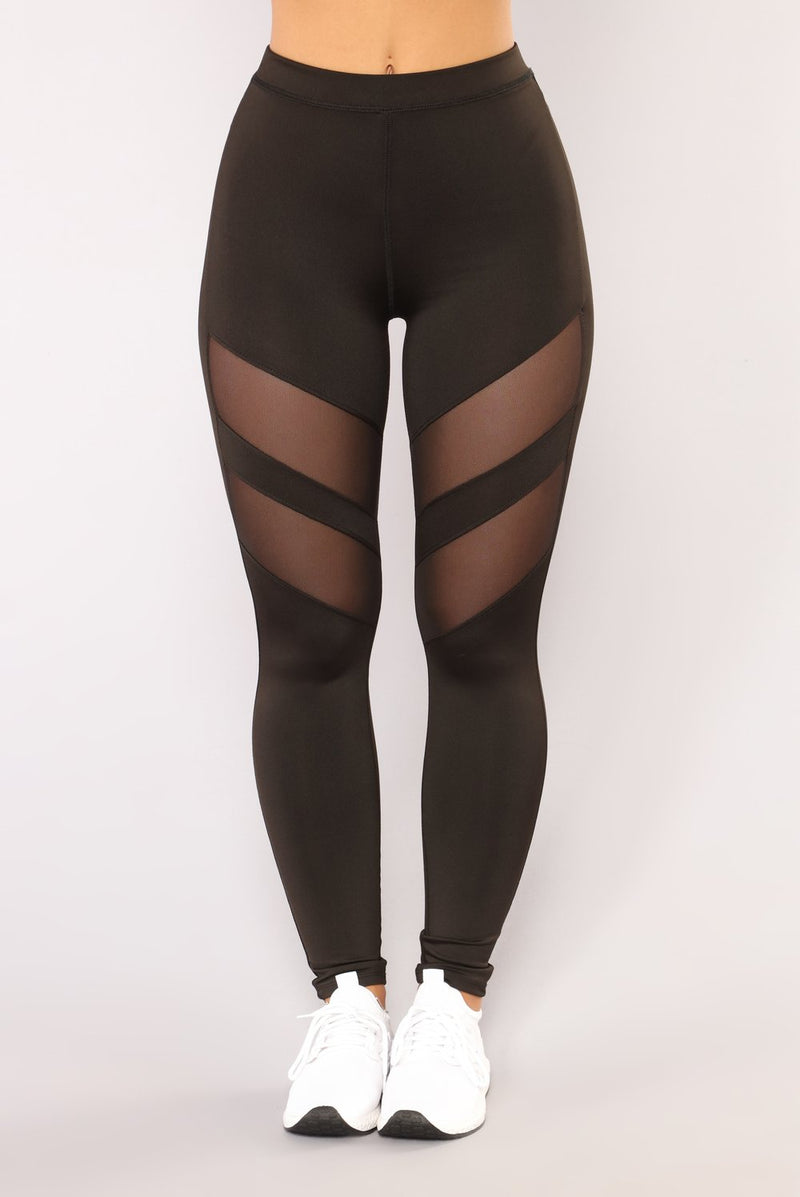 OMG, Mesh Panel Leggings Under $16