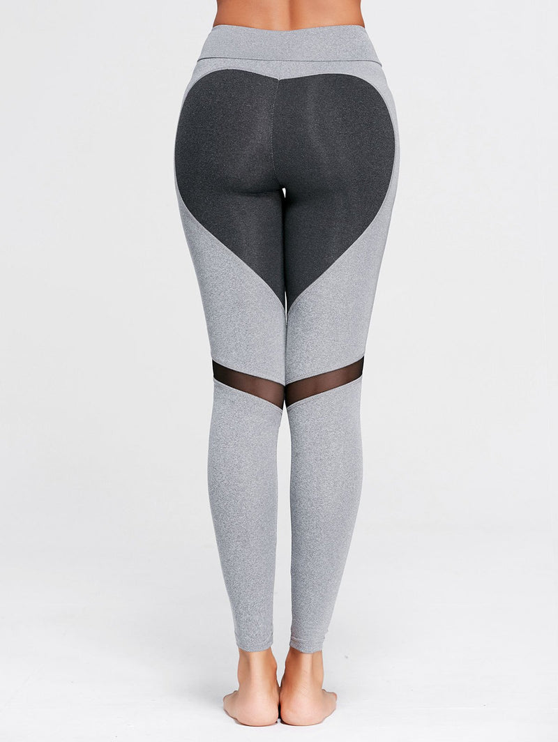 Heart Butt Yoga Legging