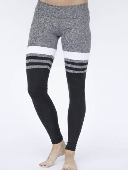 GREY HIGH SOCK LEGGINGS