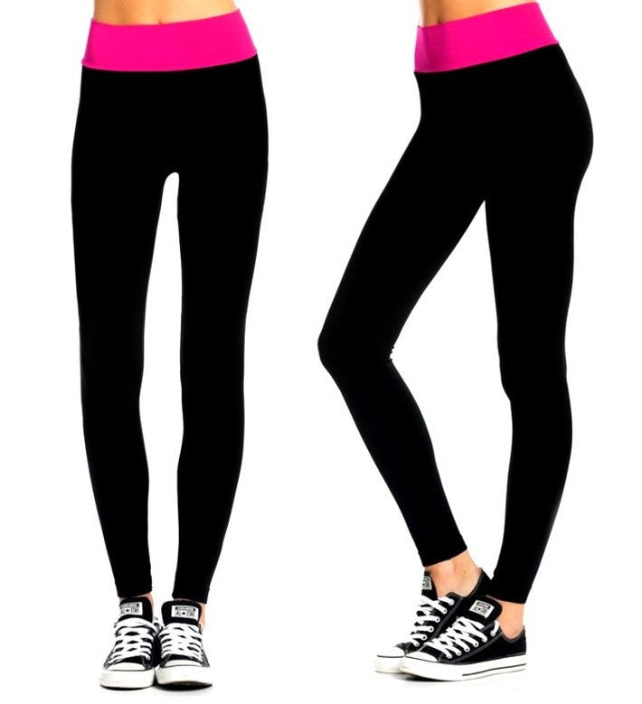 Say WHAAAT! High-Waisted Workout Leggings for 9.98